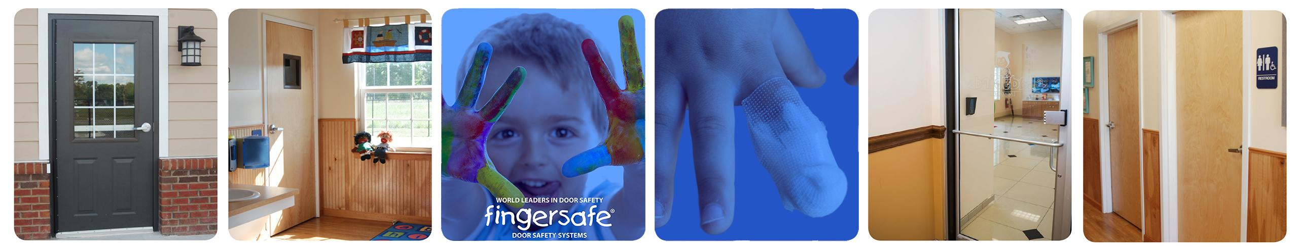Fingersafe® Door safety finger protection guards Fingersafe® prevents accidents