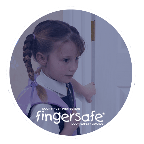Fingersafe® Door safety finger protection guards Fingersafe® prevents accidents ANTI-BACTERIAL (MK2)