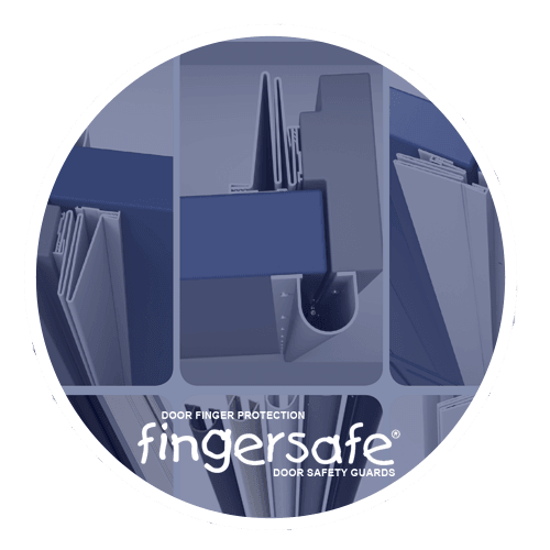 Fingersafe® Door safety finger protection guards Fingersafe® Industrial