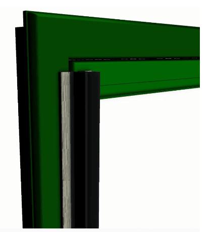 PIVOTSAFE / SWING DOORS Finger Pinch Protector Guards for Pivot Doors